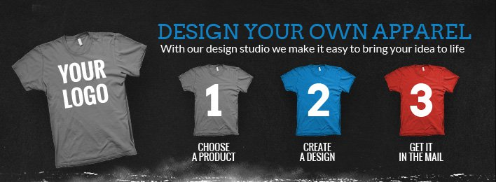 Design your own apparel